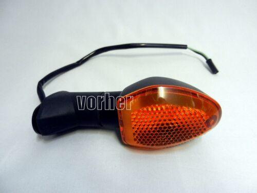 Noir LED Clignotants Kit suzuki GSR 750 c5 l1 l2 l3 l4 l5 teinté signals