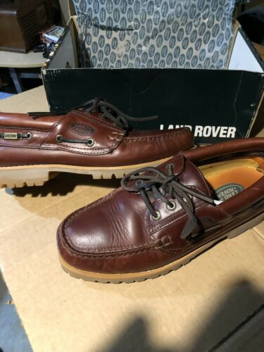 Mans Land Rover Loafers
