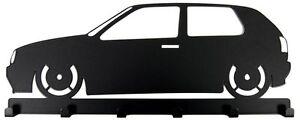 Schluesselbrett-VW-Golf-3-Schluesselboard-GTI-Schluessel-Golf-III-schwarz