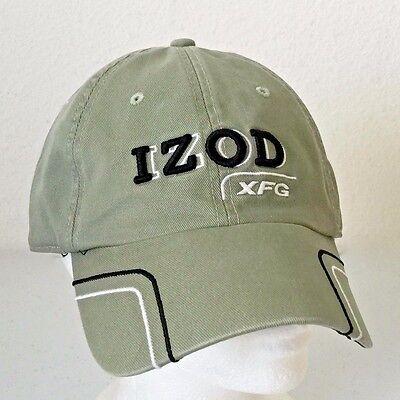 Izod Xfg Golf Cap Hat Green Embroidered Adjustable Ebay