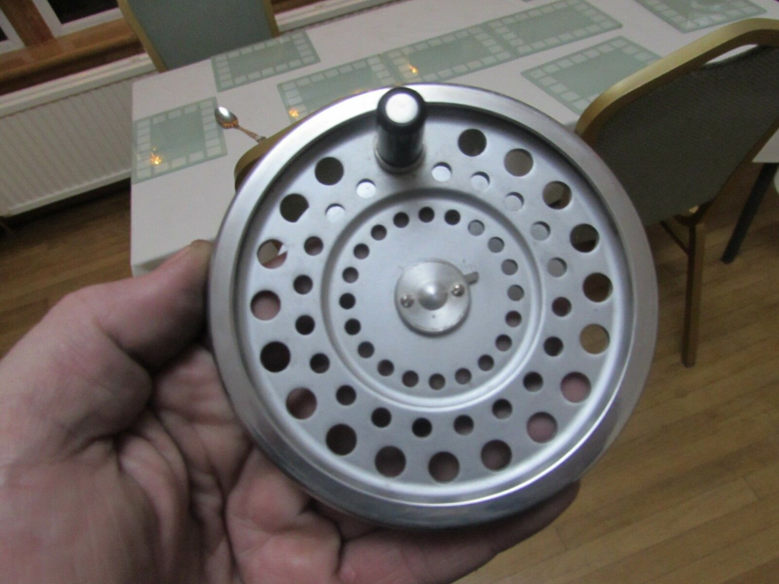. V good vintage Hardy  marquis no. 2 spare spool for salmon fly fishing reel ,.,  for cheap