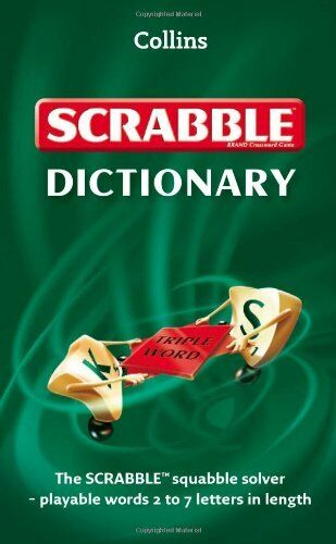 Collins Scrabble Dictionary: A format edition Book The Cheap Fast Free Post