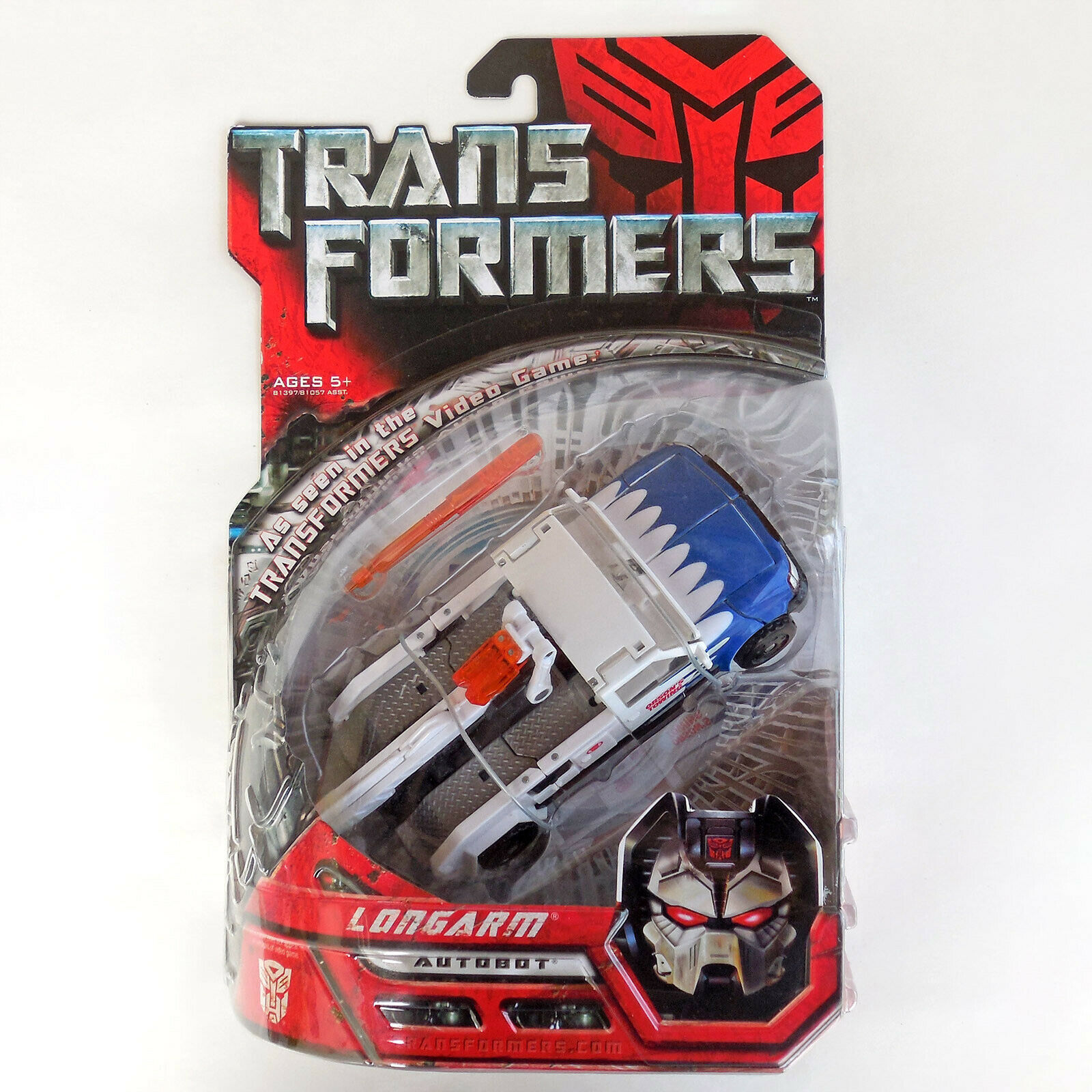 Transformers Movie Longarm Deluxe Class Action Figure