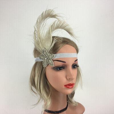 1920er Jahre Flappers Stirnband Great  Headpiece Retro Haarschmuck