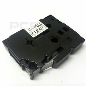 Compatible Brother TZ131 For P-Touch PT1090 PT1005 PT1200 PT1250 12mm Label Tape