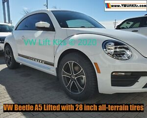 Lift Kit for VW New Beetle A5 2011-2019 MK5 Dune Beetle - Stage 1.25 Suspension