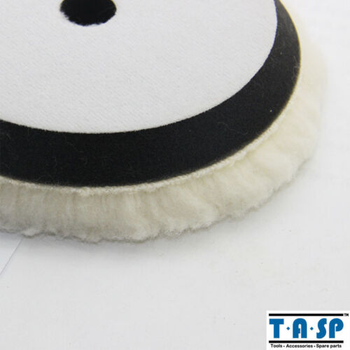 "Wool Polishing Buffing Pad Wheels 150mm 6/"" with Foam For Car mirror finish"