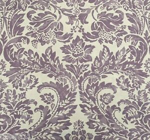 Details About Aerin Lauder Lee Jofa Large Scale Damask Linen Upholstery Fabric Montrose 16 5 Y