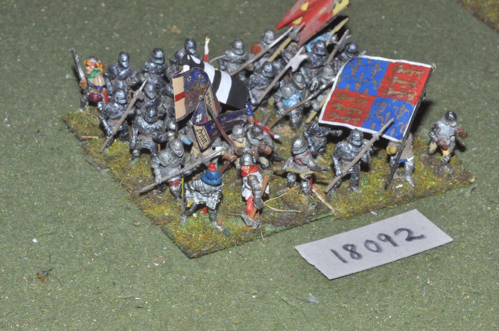20mm medieval Generic-Men at Arms 37 higos-INF (18092)