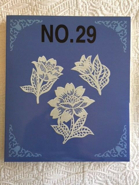 Brother Babylock Bernina Embroidery Machine Memory Card Lace No 29