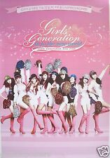 """GIRLS GENERATION """"INTO NEW WORLD ASIAN TOUR"""" POSTER-Wearing Pink Boots, Pom Poms"""
