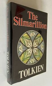 1977 The Silmarillion J.R.R. Tolkien 1st Edition 1st Print HCDJ Excellent