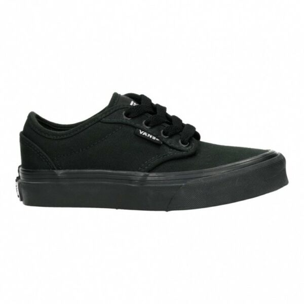 12675017defd08 VANS Atwood Unisex Black Kids  Young Adult Lowtop Trainers Various Sizes  24hr