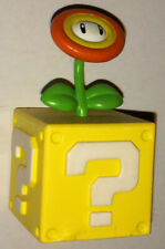 Furuta Super Mario Bros Wii-CHOCO Egg-Block Fire Flower Brick-NUOVO