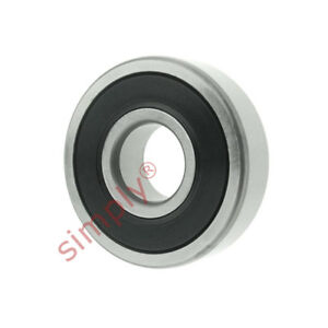 Fag 6001-2RSR-C3 Cage Bearing 60012RSRC3 Pack of 2