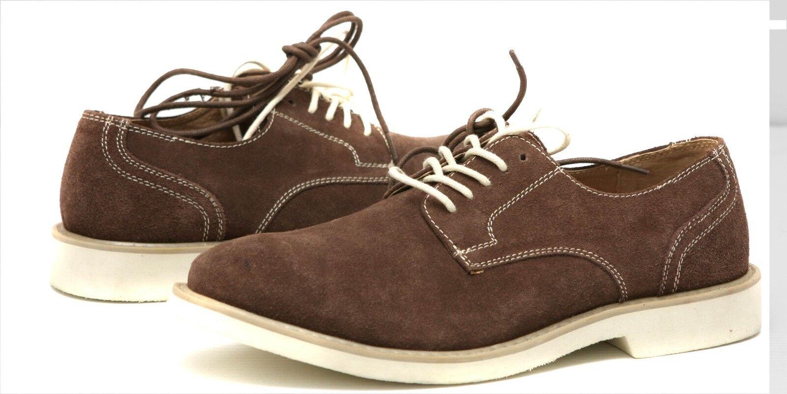 New Florsheim oxfords  suede men's shoes size 10.5 (Msr  )