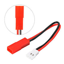 Molex 51005 Male Connector Battery Charger Converter Lead to Red Female JST Plug