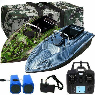 Handbag UK 500M RC Carp Fishing Bait Boat GPS Position Hook//Bait post Speedboat