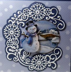 Stanzschablone-Blume-Liane-Hochzeit-Weihnachts-Oster-Geburtstag-Karte-Album-DIY