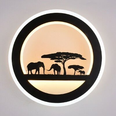 18W LED Wall Mounted Light Fixture Acrylic Lamp Indoor Lighting Reading Room Pub