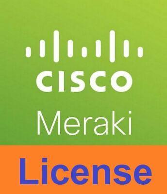 1 Year Cisco Meraki MX68 Enterprise License and Support Cloud Controller web