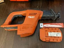 Hilti Wsr 650 A Power Reciprocating Saw 24v Includes Bladeowners Manual