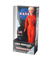 Nasa Astronaut Doll 11.5 Doll With Detailed Shuttle Uniform