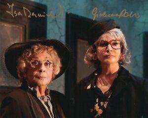 Isa-Danieli-e-Giuliana-De-Sio-Rara-Foto-autografata-Signed-Autografo-ITP-Cinema
