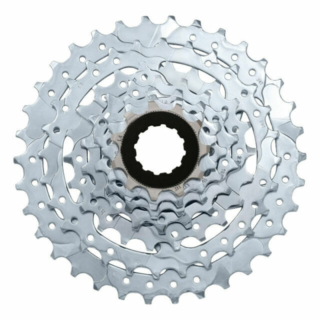 SUNRACE CS-M40  7-SPEED---11-34T MTB--ROAD SILVER BICYCLE CASSETTE