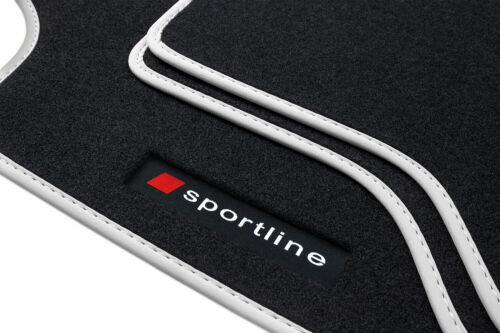 Fußmatten Sportline für Audi A4 8E B6 B7 Bj 2001-2008