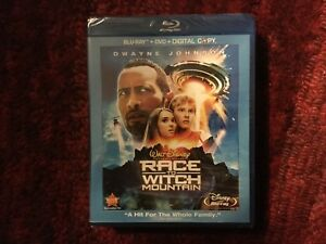 Race to Witch Mountain with The Rock : New 3 - Disc Blu-ray + DvD Set