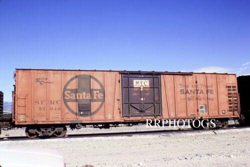 RR PRINT SANTA FE AT/&SF 52/' MECHANICAL REFRIGERATOR SFRD #51040