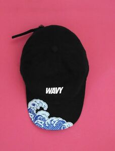 30cd0b73ae73ed NEW WAVY V2 KYC Vintage Cap Dad Hat Strapback Black White Pink | eBay