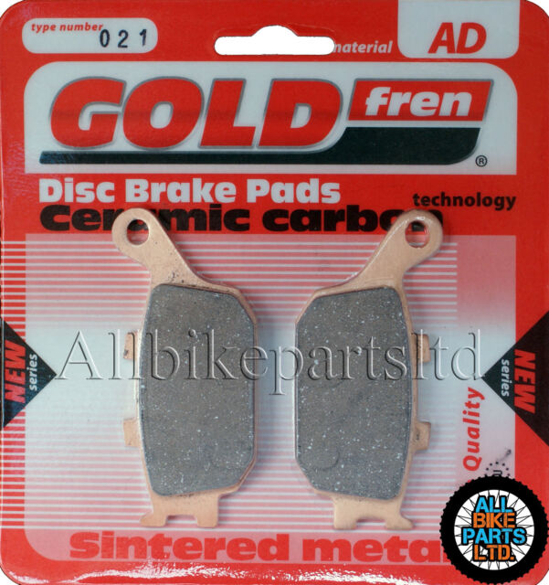 SINTERED REAR BRAKE PADS For: HONDA CBR600F CBR600 F / SPORT CBR 600 CBR600-F