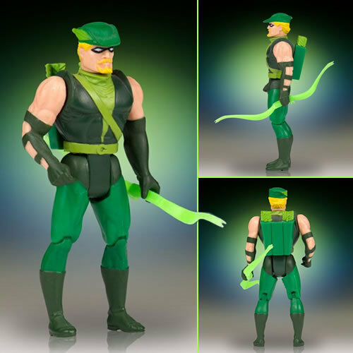 DC 12  Super  Powers Collection Vintage Jumbo Figures - vert Arrow BRAND nouveau  articles promotionnels