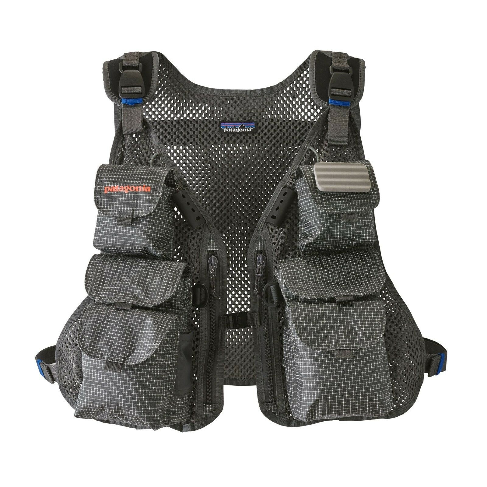Patagonia FLY FISHING Converdeible Vest-Forge grigio