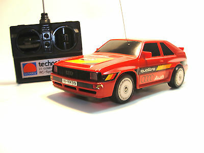 1984 NIKKO Technotoy AUDI SPORT QUATTRO - 1/24 (?) Radio controled Vintage rare