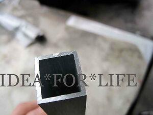 1pcs 6061 T6 Aluminum Square Tube 100mm x 100mm x 2mm Wall x500mm long #VZSJ