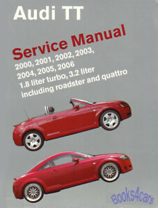 audi tt shop manual service repair book bentley quattro ebay rh ebay com Bentley Coupe bentley car repair manuals