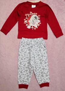 Disney 101 Dalmatians baby girl boy Xmas pj set size 69 months - Bridlington, United Kingdom - Disney 101 Dalmatians baby girl boy Xmas pj set size 69 months - Bridlington, United Kingdom