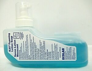 Lot Of 6 Kay Ecolab 1111603 Foaming Lotion Soap 25 Fl