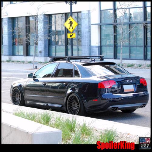 Fits: Audi A4 // S4 B7 2005-2008 SpoilerKing #380R Rear Window Roof Spoiler