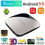X88-PRO-Android-9-0-Smart-TV-Box-4GB-RAM-64GB-RK3318-Quad-Core-4K-WiFi-Lettore miniatura 1