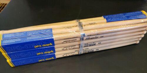 PROMARK 12-Pair Hickory Drumsticks Wood Tip 808 Artist Series Paul Wertico