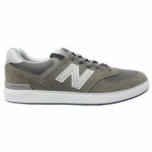 New-Balance-Men-039-s-All-Coasts-574-Skate-Low-Top-Sneaker-Shoes-Grey-Grey-Footwe