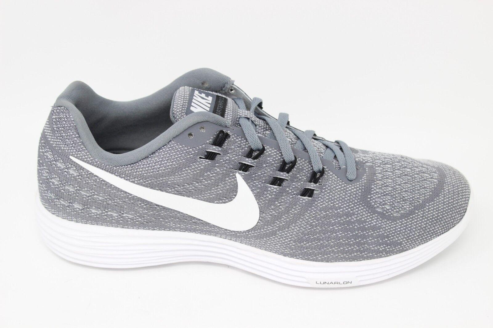 promo code 5763d 93fcf Nike Men s Lunartempo 2 2 2 818097 005 Cool Grey White-Black Brand New  ed6018