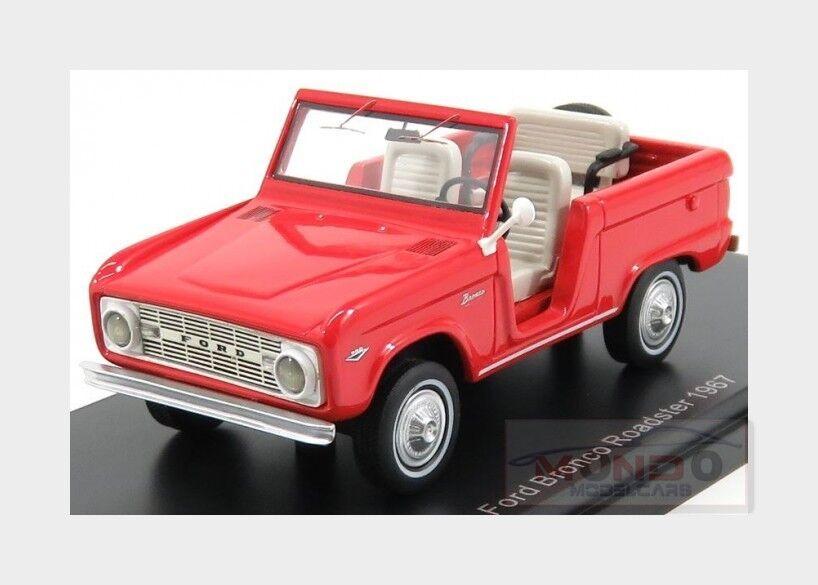 Ford Usa Bronco Roadster 1967 Red NEOSCALE NEOSCALE NEOSCALE 1 43 NEO47210 Model fe5b34