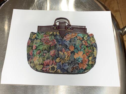 American Girl Doll Kirsten Pleasant Company Carpet Bag PC