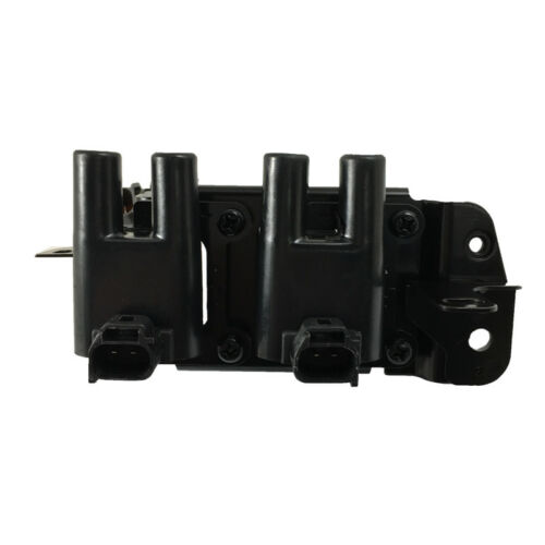 4x NGK Spark Plugs /& Swan Ignition Coil Pack for Hyundai Accent Getz Kia Rio