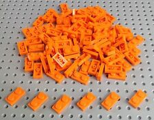 Lego Orange 1x2 Plate (3023) x25 in a set *BRAND NEW* City Star Wars Creator